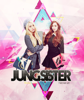 Jung Sister by Hannieedouble by Hannieedouble