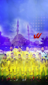 Kosova National Team by WaaaLi