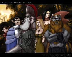 THE ELVEN ALLIANCE by thevampiredio