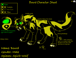 Spirit Bourd new Char Sheet by KerriganBuwan
