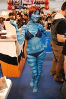 Body Painting Avatar 1 by VegaNya