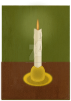 The candle by PdictusMagister