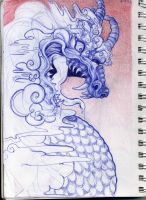 Sketchbook Dragon by Rattenfanger