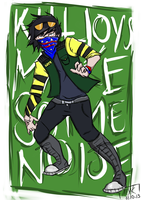 Fun Ghoul - 'KILLJOYS MAKE SOME NOISE' by the-shxrpest-lives
