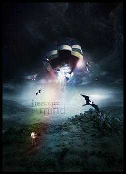 Freedom Of Mind - Photomanipulation by LukSykora