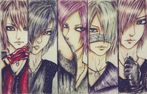 # The GazettE. by Matthew-Ray