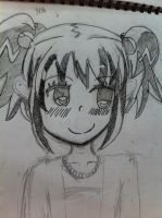 Anime Drawing-OC by Anime-Luv-Forever