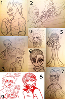 C-D : Sketches N' Stuff by Zap-Zap-Forever