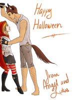 Happy Halloween from HSoRP by DollF4ce