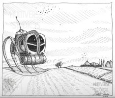 Intergalactic Harvester by Weirdonian