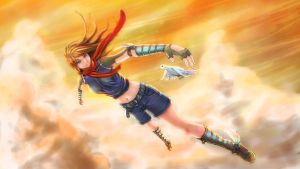 Jumping to the Sky by Blackv1rus