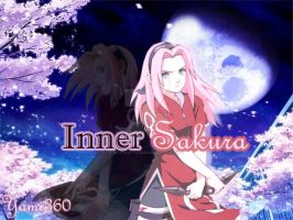 Inner Sakura Wallpaper by InLoveWitSasuke