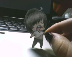 Paper child Andy by Mashiro-chan
