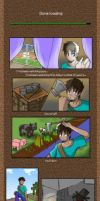 Minecraft Comic Teaser by MidNight-Vixen