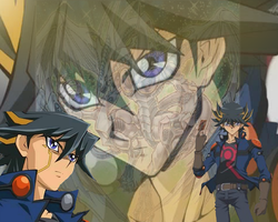 yusei Fudo Wallpaper by DrSpencerReidBietch