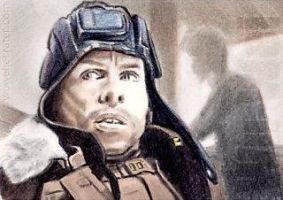 Warwick Davis mini-portrait by whu-wei
