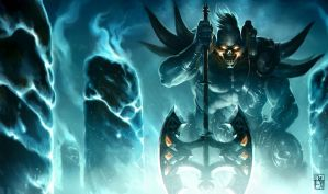 SION by League of Legends by antoniodeluca