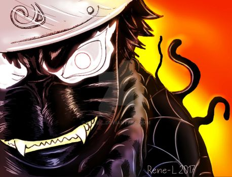 Symbiote goes Naruto by Rene-L