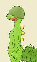 Pvt. Sceptile by TheWatAndOnly