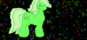 dj-neon-green by jess-the-red-head