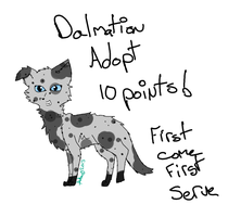 Dalmation Adopt OPEN by AnamayCat