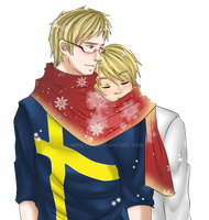 APH-A very Merry Christmas by Mira-chii