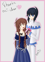 """""""Thank you, Onii-chan"""" by Winoa"""