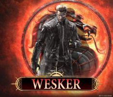 Mortal Kombat DLC Wesker by ultimate-savage