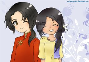 China and Philippines by smile-himechii
