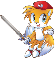 Tails The Mighty Smash Up Hero by cuteygirl226