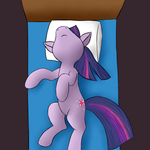 Sleeping Twilight Sparkle by Sokolas
