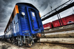 Steamtown Trains by Mjag