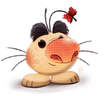 Daily Paint 690. Mr.Saturn by Cryptid-Creations