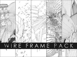 wire frame pack by R3volver1