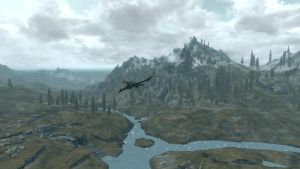 The beauty of Skyrim by kraziaimz