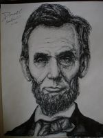president lincoln by artkid01