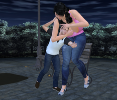 Poser 24: Bully the weak! by nyom87