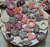 Christmas cookies by JSjewelry