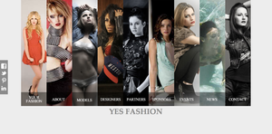 Yes Fashion Website by studiomonroe