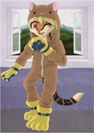 :YCH: Kitty Kigu by SolarGem