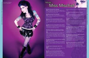 Glam Rock Magazine by Miss-MischiefX