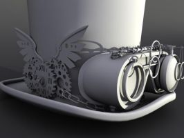 SteamPunk 3D model by Santito