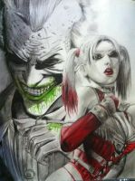 Joker and Harley by DivineInterfector