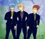 Rocking the suit, Chase Owen and Luke by animegal9215