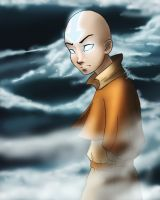 Aang by xcandeex