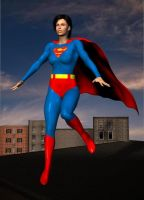 Superwoman  of the Earth 11 by cattle6