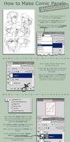 Photoshop Comic Panel Tutorial by ahnline
