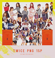 TWICE KNOCK KNOCK 15P PNG by vul3m3
