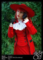 Noble Woman in Red by ArtemisBerry
