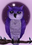 .:Purple Owl:. by Chocoreaper